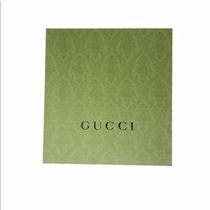Gucci Green Recyclable Apparel Box